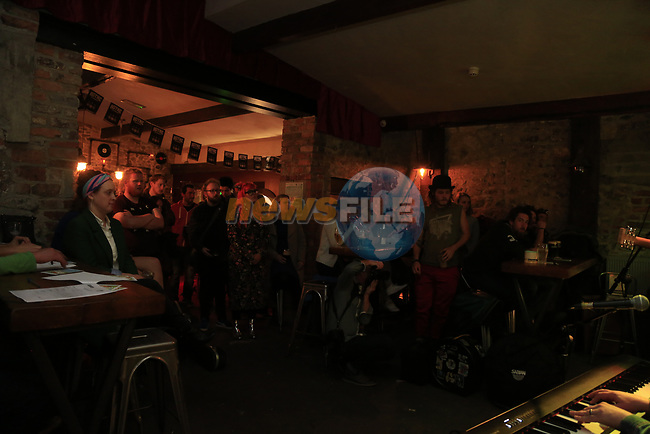 Lowlight Gathering at the Firestone Battle of the Bands 2017 in odd Mollies, Drogheda, CoLouth.<br /> Picture: Newsfile   Fran Caffrey<br /> <br /> <br /> All photo usage must carry mandatory copyright credit (&copy; Newsfile   Fran Caffrey)