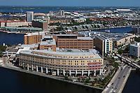 aerial photograph Tampa General Hospital, Tampa, Florida