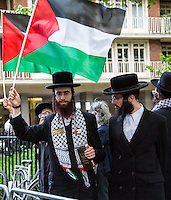 15.05.2014 - Demo & Counter Demo for Tzipi Livni Visits in London