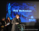 Actor Ray McKinnon at Oxford Film Festival Awards show at the Powerhouse on Saturday, February 6, 2010, in Oxford, Miss.