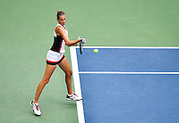 NEW YORK, USA - SEPT 10, Karolina Pliskova of Czech Republic against Angelique Kerber of Germany during their Women's Singles Final Match of the 2016 US Open at the USTA Billie Jean King National Tennis Center on September 10, 2016 in New York.  photo by VIEWpress