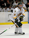 5 January 2007: University of Vermont forward Reese Wisnowski (20) from East Middlebury, VT, in action against the University of New Hampshire Wildcats at Gutterson Fieldhouse in Burlington, Vermont. The UNH Wildcats defeated the UVM Catamounts 7-1 in front of a record setting 48th consecutive sellout at &quot;the Gut&quot;...Mandatory Photo Credit: Ed Wolfstein Photo.<br />