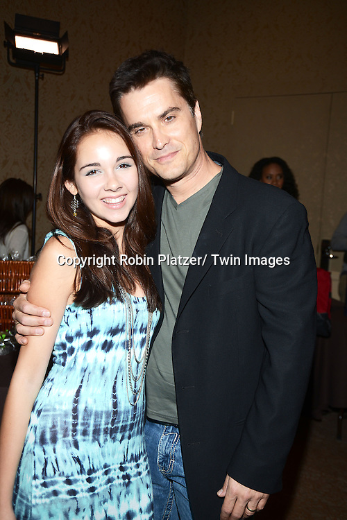 Haley Pullos and rick hearst