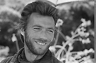 Mexico,1969. A portrait of American actor Clint Eastwood on the set of the American 1970 film Two Mules for Sister Sara directed by Don Siegel. Eastwood starred as the cowboy Hogan.