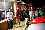 Outside of the After 5 Sports Bar and Grill in Tunica, Mississippi in the early hours of October 15, 2011 as rapper Don Trip performs on stage inside.