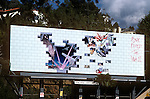 Pink Floyd billboard for The Wall