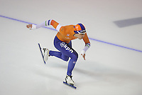 SPEEDSKATING: CALGARY: Olympic Oval, 26-02-2017, ISU World Sprint Championships, 500m Men, Kai Verbij (NED), ©photo Martin de Jong