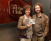 04/06/14<br /> (No Fee pixs) Joey Moore and Dave McCyne  arriving to the Stella Bass Album Launch &ldquo;TOO DARN HOT&rdquo; which took place in the Sugar Club Co Dublin this evening&hellip;<br /> Pic Collins  Photos