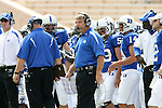 30 September 2006: Duke head coach Ted Roof. The Duke University Blue Devils lost 37-0 to the University of Virginia Cavaliers at Wallace Wade Stadium in Durham, North Carolina in an Atlantic Coast Conference NCAA Division I College Football game.