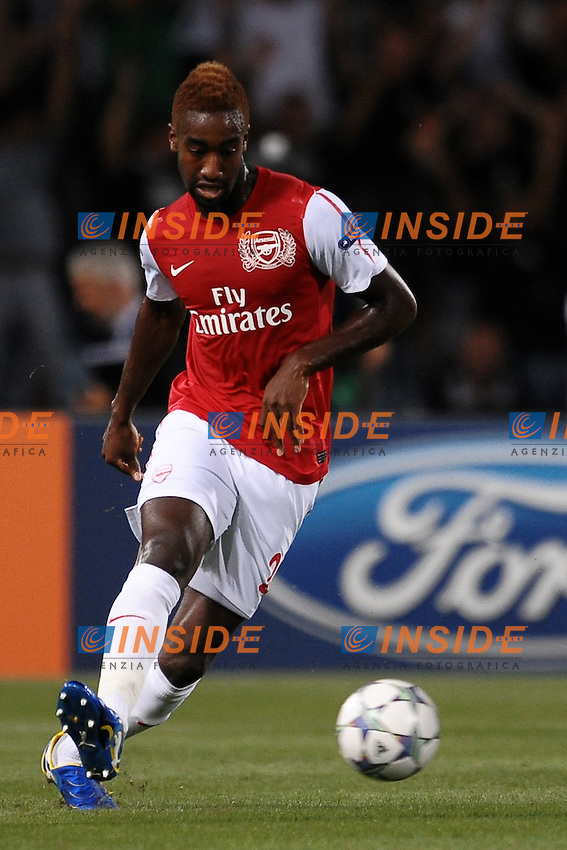 "Johan DJOUROU Arsenal.Udine 24/8/2011 Stadio ""Friuli"".Football Calcio Champions League.Udinese Vs Arsenal.Foto Insidefoto Andrea Staccioli"