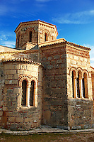 The Byzantine Greek Orthodox Church of  Saints Jason and Sosipater, Anemomylos, Corfu Greek Ionian Islands
