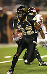 18 November 2006: Wake Forest's Willie Idlette rushes the ball. The Virginia Tech Hokies defeated the Wake Forest University Demon Deacons 27-6 at Groves Stadium in Winston-Salem, North Carolina in an Atlantic Coast Conference NCAA Division I College Football game.