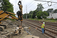 Railroad Station Fairfield Metro Center Connecticut | Construction Photo Extras & Rail Movement