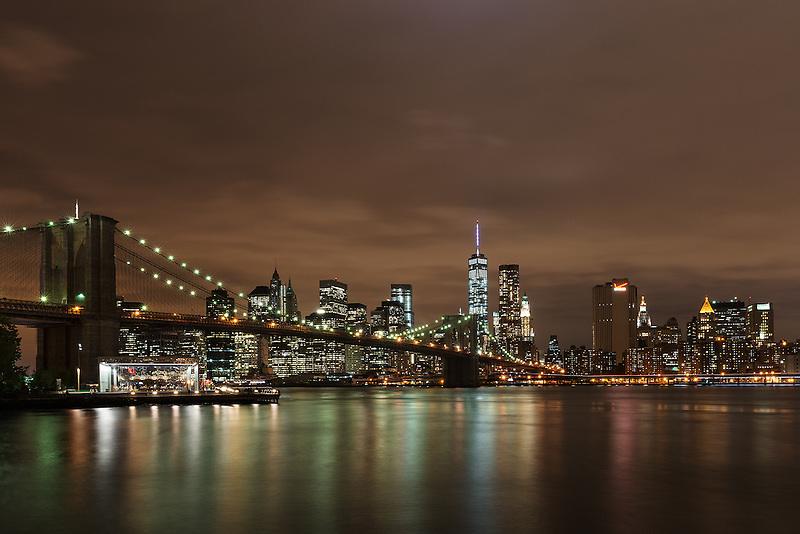 Brooklyn Bridge &amp; Lower Manhattan<br /> New York City