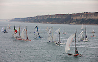 Transat Jacques Vabre 2011. Le Havre. France.Pictures of TJV Race start today