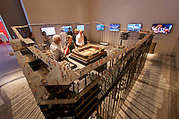 Venice, Italy - 15th Architecture Biennale 2016, &quot;Reporting from the Front&quot;.<br /> International Pavilion.<br /> The Work of Liu Jiakun in China.
