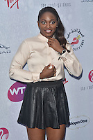 Sloane Stephens at WTA pre-Wimbledon Party at The Roof Gardens, Kensington on june 23rd 2016 in London, England.<br /> CAP/PL<br /> &copy;Phil Loftus/Capital Pictures /MediaPunch ***NORTH AND SOUTH AMERICAS ONLY***