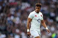 Anthony Watson of England looks on during a break in play. RBS Six Nations match between England and Scotland on March 11, 2017 at Twickenham Stadium in London, England. Photo by: Patrick Khachfe / Onside Images