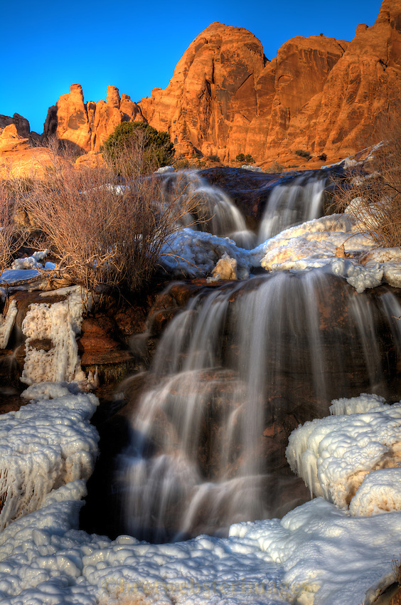 Waterfall near Moab