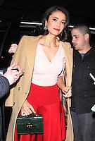 JAN 18 Nina Dobrev Seen In NYC