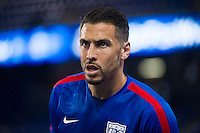 HARRISON, NJ - Tuesday October 13, 2015: The United States Men's National Team (USMNT) loses 0-1 to the national team of Costa Rica at Red Bull Arena.