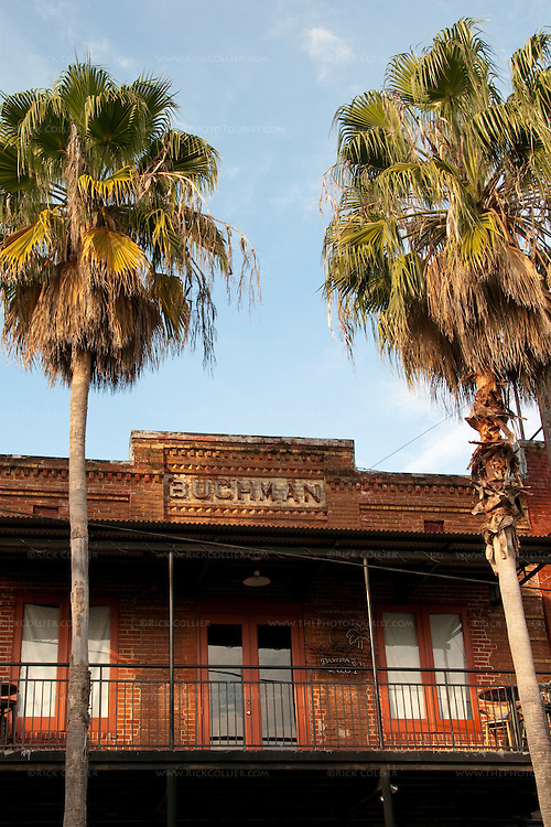 The Buchman building, Ybor City, Tampa, Florida, USA.