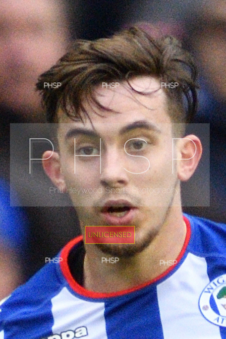 25/02/2017 Sky Bet Championship Wigan Athletic v Nottingham Forest<br /> <br /> Jamie Hanson, Wigan Athletic FC