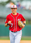 3 March 2016: Washington Nationals infielder Trea Turner returns to the dugout during a Spring Training pre-season game against the New York Mets at Space Coast Stadium in Viera, Florida. The Nationals defeated the Mets 9-4 in Grapefruit League play. Mandatory Credit: Ed Wolfstein Photo *** RAW (NEF) Image File Available ***