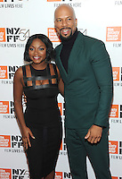 NEW YORK, NY - SEPTEMBER 30: Naturi Naughton and Common attends the 54th New York Film Festival opening night gala presentation and '13th' world premiere at Alice Tully Hall at Lincoln Center on September 30, 2016 in New York City.  Photo Credit: John Palmer/MediaPunch