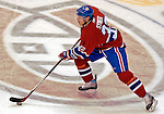 3 February 2007: Montreal Canadiens defenseman Mark Streit (32) of Switzerland in action against the New York Islanders at the Bell Centre in Montreal, Canada. The Islanders defeated the Canadiens 4-2.Mandatory Photo Credit: Ed Wolfstein Photo *** Editorial Sales through Icon Sports Media *** www.iconsportsmedia.com