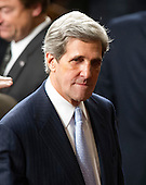 United States Senator John Kerry (Democrat of Massachusetts) awaits the arrival of U.S. President Barack Obama to deliver his State of the Union Address to a Joint Session of Congress in the U.S. Capitol in Washington, D.C., Tuesday, January 24, 2012..Credit: Ron Sachs / CNP.(RESTRICTION: NO New York or New Jersey Newspapers or newspapers within a 75 mile radius of New York City)