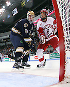 Ryan Thang (Notre Dame - 9), Joe Pereira (BU - 6) - The University of Notre Dame Fighting Irish defeated the Boston University Terriers 3-0 on Tuesday, October 20, 2009, at Agganis Arena in Boston, Massachusetts.