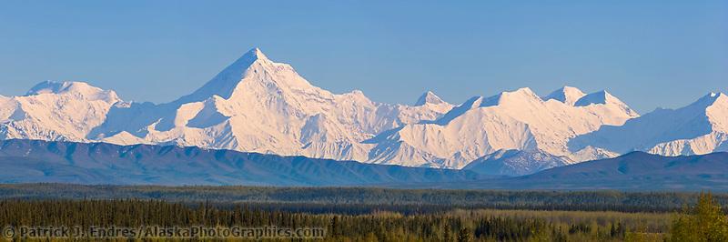 Mount Hayes of the Alaska range in Alaska's interior.