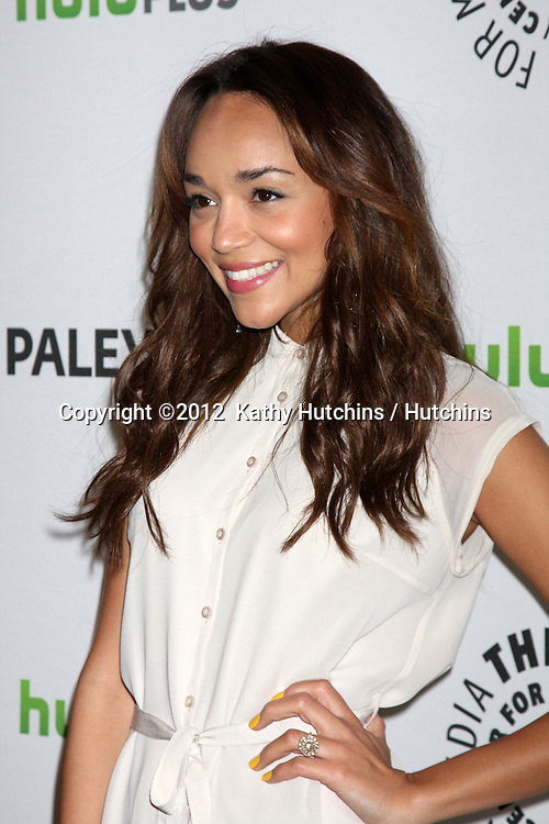 "LOS ANGELES - MAR 11:  Ashley Madekwe arrives at the ""Revenge"" Event at PaleyFest 2012 at the Saban Theater on March 11, 2012 in Los Angeles, CA"