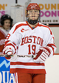 Dan McGoff (BU - 19) - The Boston University Terriers defeated the University of Maine Black Bears 1-0 (OT) on Saturday, February 16, 2008 at Agganis Arena in Boston, Massachusetts.