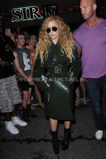 WWW.ACEPIXS.COM<br /> August 22, 2013 New York City<br /> <br /> Lady Gaga leaving her rehearsal studio in New York City on August 22,  2013.<br /> <br /> By Line: Kristin Callahan/ACE Pictures<br /> ACE Pictures, Inc.<br /> tel: 646 769 0430<br /> Email: info@acepixs.com<br /> www.acepixs.com<br /> Copyright:<br /> Kristin Callahan/ACE Pictures