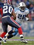 24 December 2006: Tennessee Titans running back Travis Henry returns to Buffalo to play his former team the Buffalo Bills at Ralph Wilson Stadium in Orchard Park, New York. The Titans edged out the Bills 30-29.&amp;#xA; &amp;#xA;Mandatory Photo Credit: Ed Wolfstein Photo<br />
