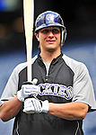 22 April 2010: Colorado Rockies' shortstop Troy Tulowitzki awaits his turn in the batting cage prior to a game against the Washington Nationals at Nationals Park in Washington, DC. The Rockies shut out the Nationals 2-0 gaining a 2-2 series split. Mandatory Credit: Ed Wolfstein Photo