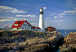 Portland Head Light,Portland, ME, horizontal format.