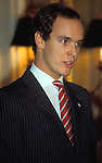 Prince Albert of Monaco in Washington, DC in 1984.