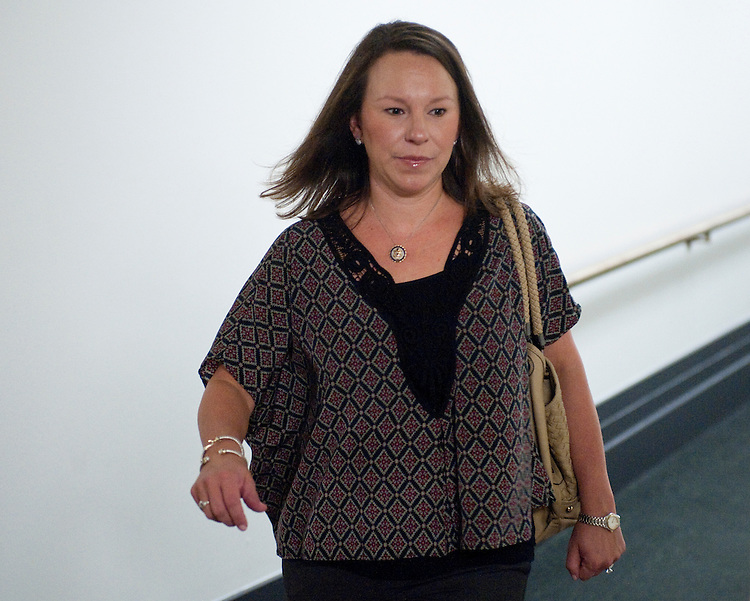 UNITED STATES - SEPTEMBER 21: Rep. Martha Roby, R-Ala., leaves the House Republican Conference meeting in the Capitol on Wednesday,  Sept. 21, 2011. (Photo By Bill Clark/Roll Call)