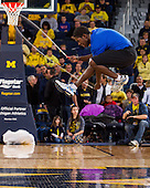 The University of Michigan men's basketball team beat Iowa, 95-67, at Crisler Center in Ann Arbor, Mich., on January 6, 2013.