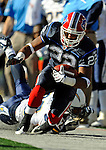 19 October 2008:  Buffalo Bills' running back Fred Jackson in action against the San Diego Chargers at Ralph Wilson Stadium in Orchard Park, NY. The Bills defeated the Chargers 23-14 and maintain their first place position in the AFC East with a 5 and 1 record...Mandatory Photo Credit: Ed Wolfstein Photo