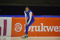 SCHAATSEN: HEERENVEEN: IJsstadion Thialf, 06-02-15, Training World Cup, Brittany Bowe (USA), ©foto Martin de Jong