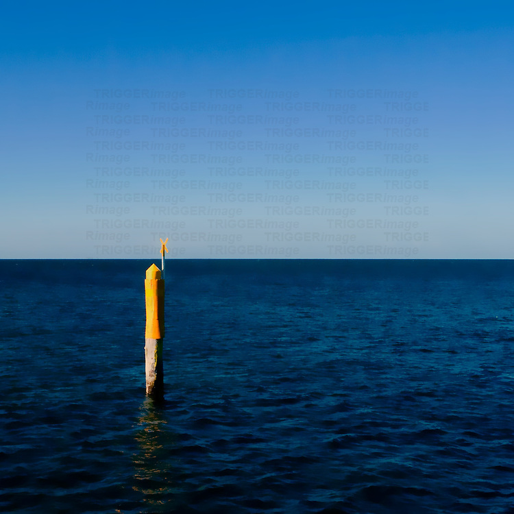 Post in sea