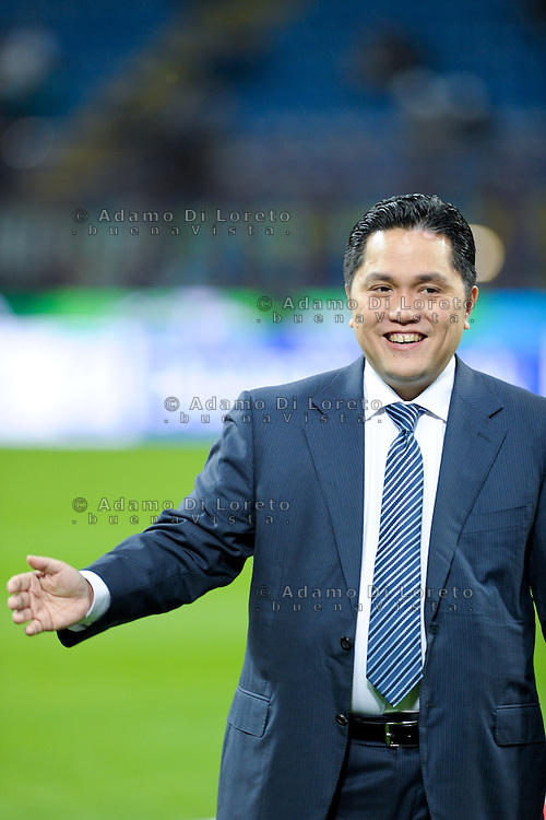 Erick Thohir (Inter) during the Serie Amatch between Inter vs Bologna, on April 05, 2014. Photo: Adamo Di Loreto/BuenaVista*photo