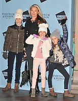 Tamara Beckwith and kids at the Skate at Somerset House with Fortnum &amp; Mason VIP launch party, Somerset House, The Strand, London, England, UK, on Wednesday 16 November 2016. <br /> CAP/CAN<br /> &copy;CAN/Capital Pictures /MediaPunch ***NORTH AND SOUTH AMERICAS ONLY***