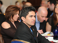 Former DC United Player Jaime Moreno, at the 2011 Season Kick off Luncheon, at the Marriott Hotel in Washington DC, Wednesday March 16 2011.