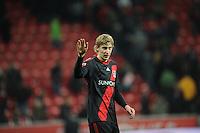 FUSSBALL   1. BUNDESLIGA   SAISON 2011/2012    15. SPIELTAG Bayer 04 Leverkusen - 1899 Hoffenheim                  02.12.2011 Stefan Kiessling (Bayer 04 Leverkusen)