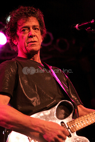 Lou Reed plays to a sold out crowd joined by John Zorn at the Highline Ballroom on May 5, 2008 New York, NY Credit: RTNMaler / MediaPunch Inc